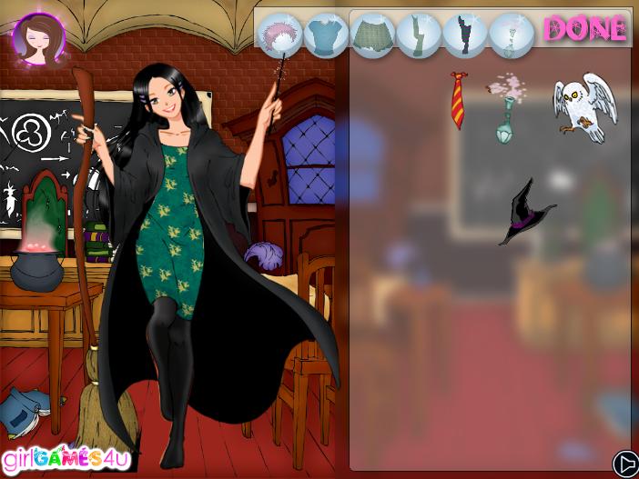Игра Одевалка ведьма онлайн