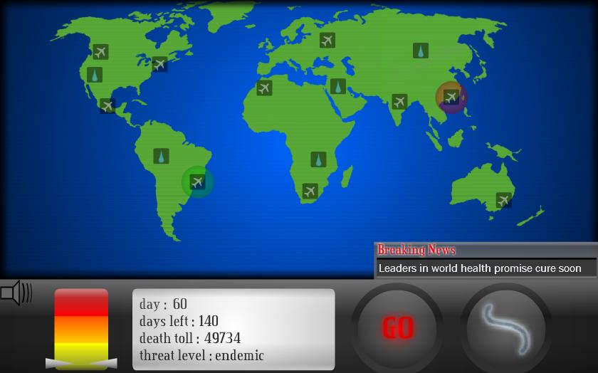 Игра Пандемия онлайн