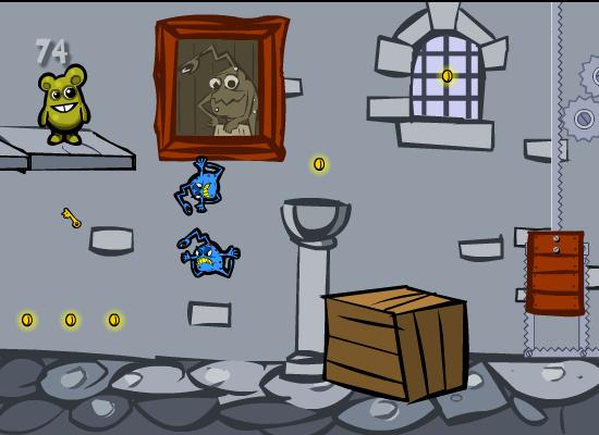 Игра Побег из замка онлайн