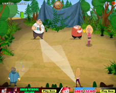 Игра Побег из лагеря онлайн
