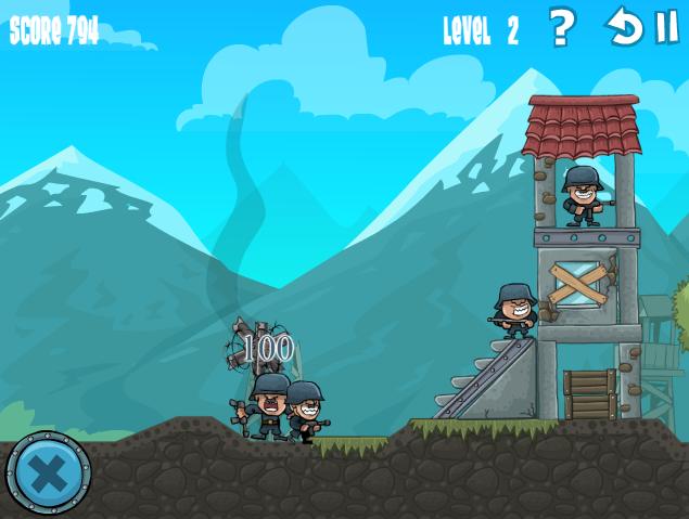 Игра Порыв артиллерии онлайн