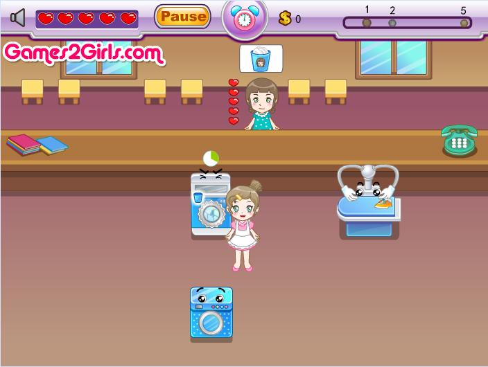 Игра Прачечная онлайн