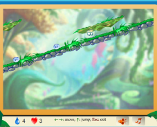 Игра Приключения капельки онлайн