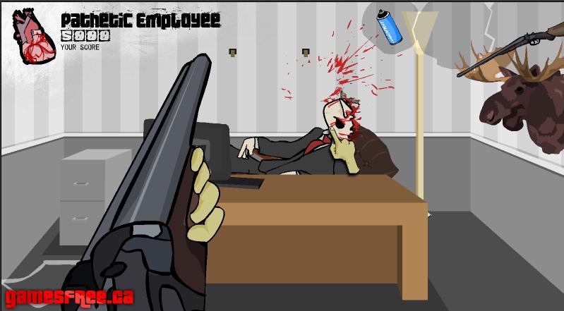 Игра Псих в офисе 2 онлайн