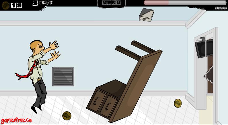 Игра Псих в офисе 5 онлайн