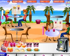 Игра Ресторан на пляже онлайн