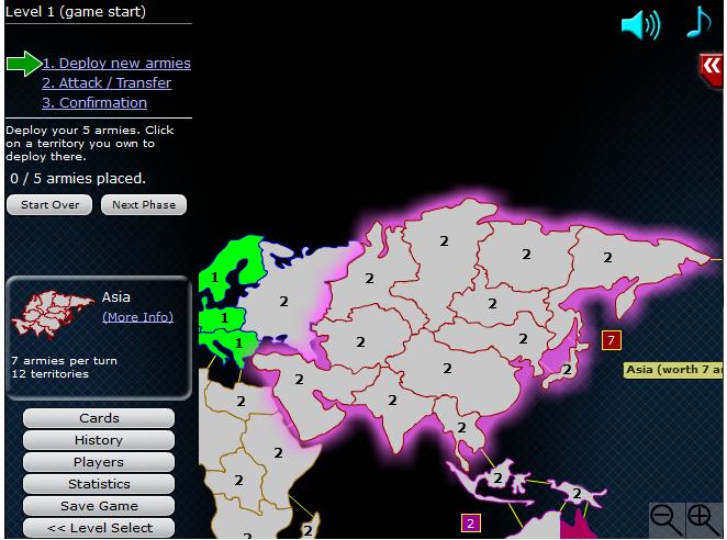 Игра Свет войны онлайн
