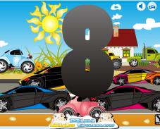 Игра Сколько машин онлайн