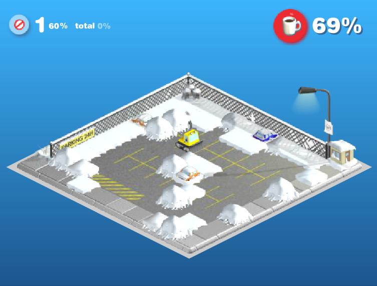 Игра Снежная буря онлайн