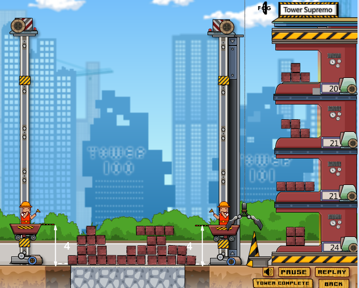 Игра Строим Башню онлайн