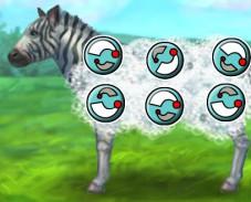 Игра Уход за зеброй онлайн
