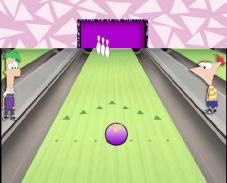 Игра Финес и ферб боулинг онлайн