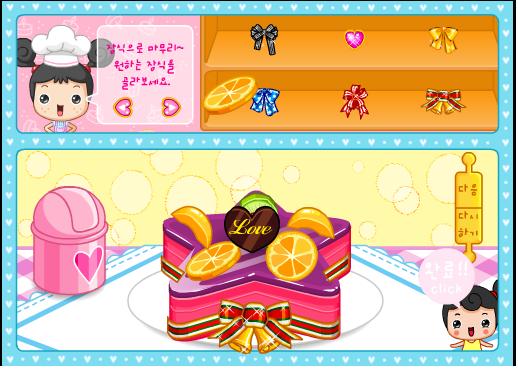 Игра Фруктовый торт онлайн