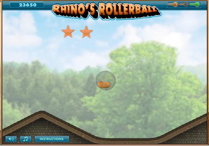 Игра Хомяк в шарике онлайн