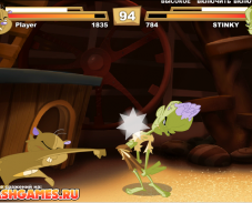 Игра Хомяк против зомби онлайн