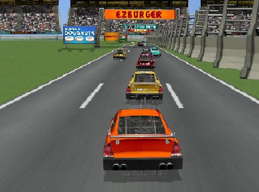 Игра Американские гонки онлайн