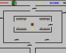 Игра Божья коровка в лабиринте онлайн