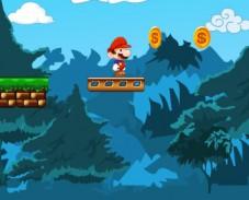 Игра Большое приключение Марио онлайн