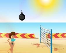 Игра Взрывной волейбол онлайн