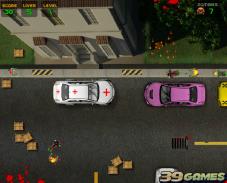 Игра Водитель против зомби онлайн