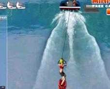 Игра Водные лыжи онлайн