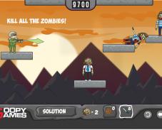 Игра Воздушные шары против зомби онлайн