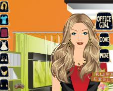 Игра Девушка из офиса онлайн