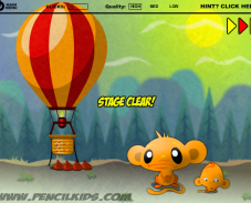 Игра Забавная обезьянка 2 онлайн