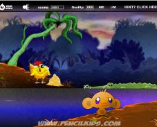 Игра Забавная обезьянка 5 онлайн