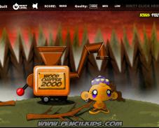 Игра Забавная обезьянка мараф. 3 онлайн