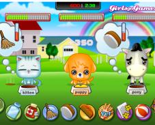 Игра Забавные животные онлайн