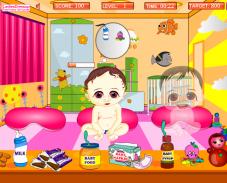 Игра Заботимся о малышах онлайн