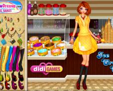 Игра Кафе мороженое онлайн