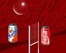 Игра Кока кола волейбол онлайн