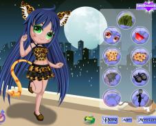 Игра Кошка чиби онлайн