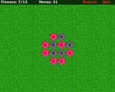 Игра Красные цветы онлайн
