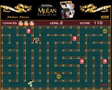 Игра Лабиринт Мулана онлайн