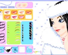 Игра Макияж зимой онлайн