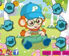 Игра Маленькая обезьянка онлайн