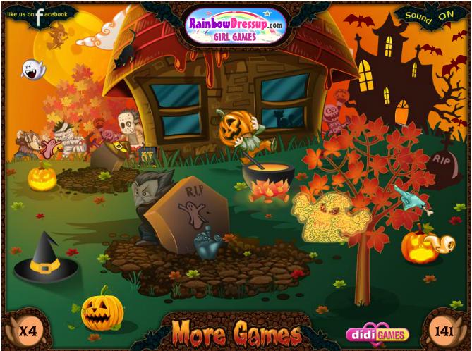 Игра Найди привидений онлайн