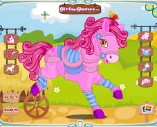 Игра Наряди лошадку онлайн