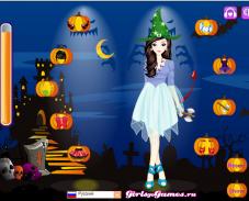 Игра Наряды для Хэллоуина онлайн