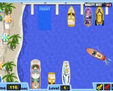 Игра Припаркуй мою лодку онлайн