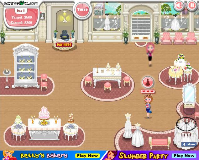 Игра Свадебный бутик онлайн
