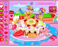 Игра Торт валентинка онлайн
