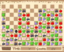 Игра Фруктовый пазл онлайн
