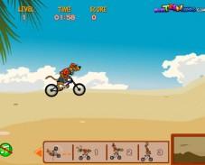 Игра Велосипед для Скуби Ду онлайн