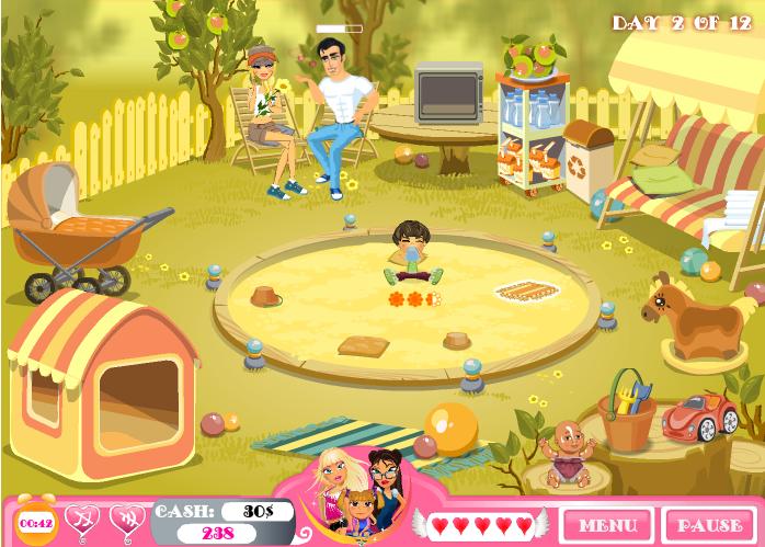Игра Влюблённая няня 2 онлайн