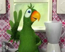 Игра Говорящий попугай онлайн