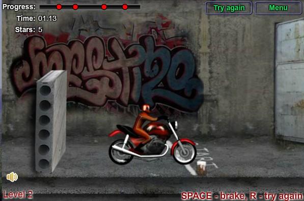 Игра Городская гонка онлайн